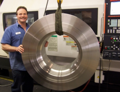 Soponski Manufacturing Heavy CNC milling and turning
